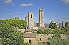 farmhouse near san gimignano old town and surroundings