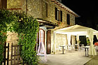 farmhouse with restaurant near san gimignano