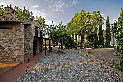 Appartment and rooms surrounded by nature in Tuscany